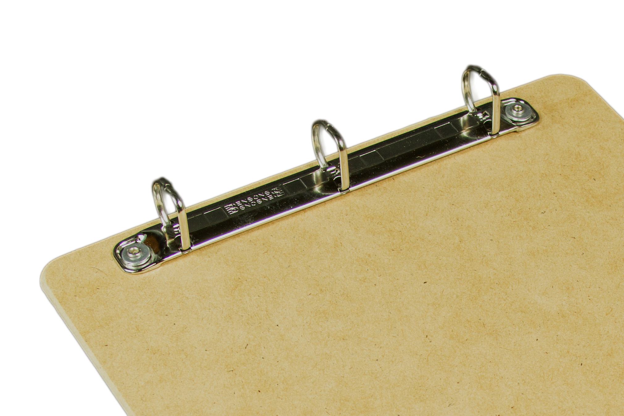 Clipboards with no clips, binders with no covers, ringboard with 3 rings