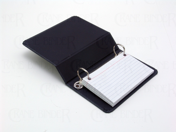 2 Ring Binder Card Index 3x5 Recipe Notebook Index Card Holder